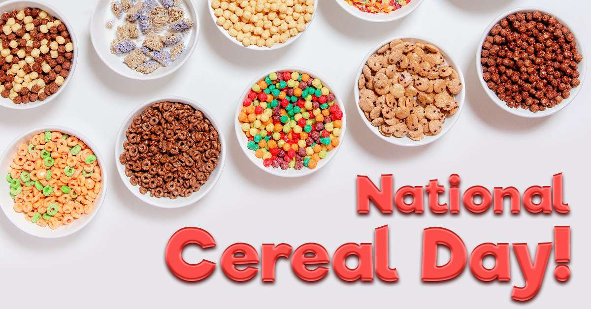 National Cereal Day Wishes Images download