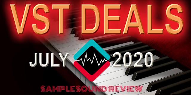 july 2020 vst audio plugins sale