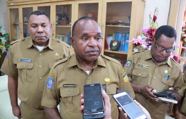 Doren Wakerkwa Ungkap Program Shift Kerja di Pemprov Papua Belum Dicabut