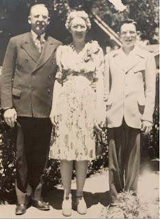 Edwin Burdick, Edna Burdick, Albert Burdick