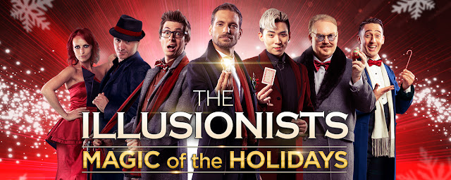 THE ILLUSIONISTS in Columbus, GA. November 16th, 2019 at River Center- for The Performing Arts.
