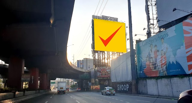 EDSA Billboard : Kalayaan Northbound 60x60