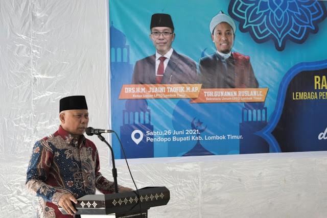 Rakerda LPTQ Lombok Timur untuk sukseskan MTQ