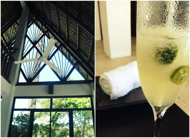 Buri Resort and Spa Welcome Drinks