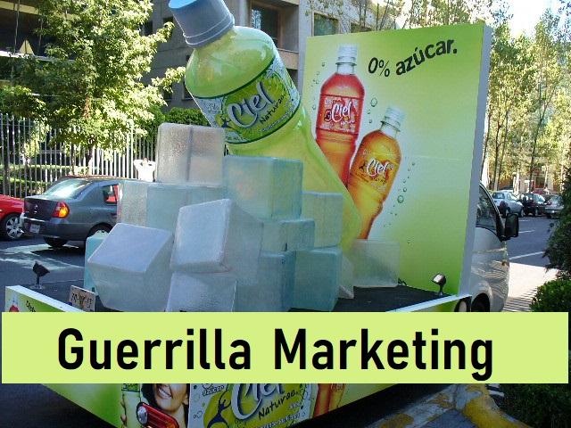 Guerrilla marketing ideas and types of Guerrilla marketing