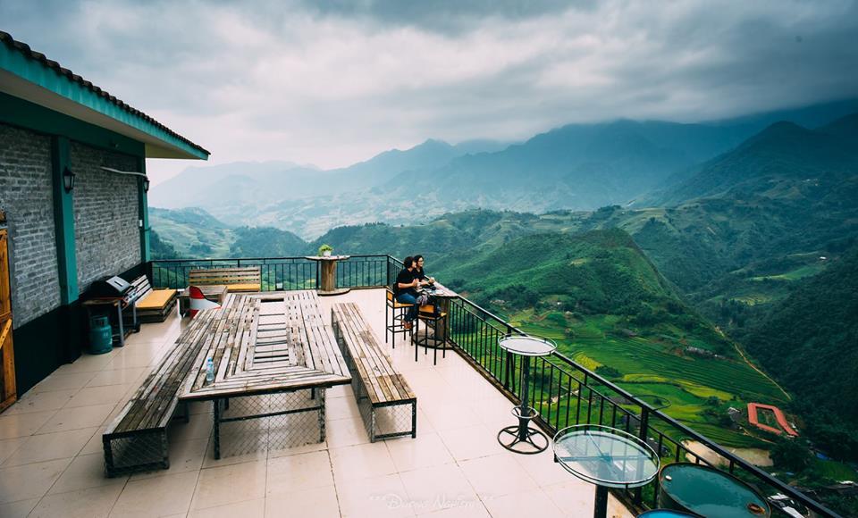 Quán cafe có view đẹp nhất Sapa - The Haven Sapa Camp Site