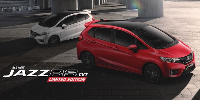 new honda jazz rs cvt