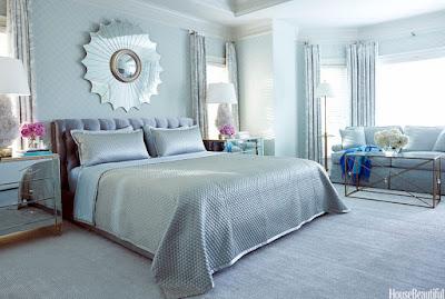 dormitor zugravit albastru
