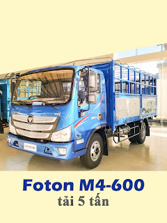 xe tải thaco M4-600 tải trọng 5 tấn