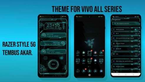 Tema Vivo: Razer Signal 5G Tema Vivo All Series Tembus Akar
