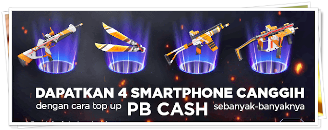 PROMO TOP UP PB CASH ZEPETTO By XIMPAY BERHADIAH SMARTPHONE