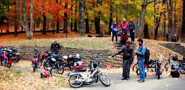 Stuck In The Buckosphere: Moped Rally this Weekend