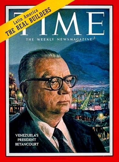 Revista Time Rómulo Betancourt 1960