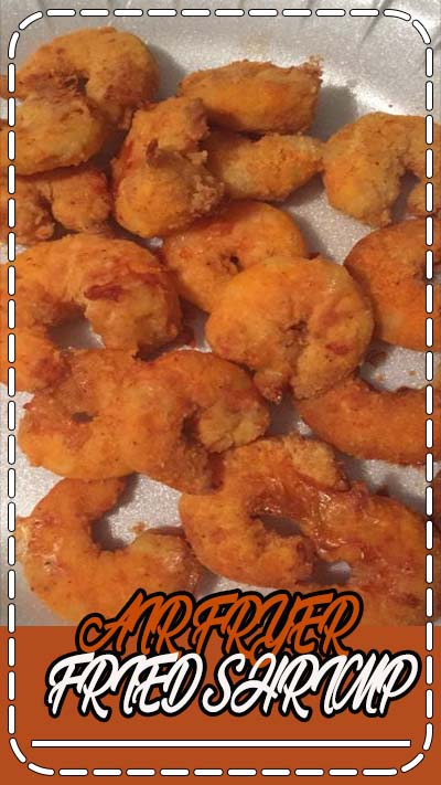 AIR FRYER – FRIED SHRIMP Ingredients: Raw Shrimp, peeled Fish Fry Yellow Mustard Tony's Chachere Cooking Spray or Olive Oil Mist Directions: Peel your shrimp and place in a plate. Sprin…