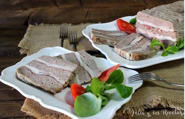 Fiambre de carnes al microondas. Julia y sus recetas