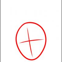 6 langkah  menggambar boruto