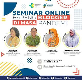 seminar blogger disiplin covid 19 ambyar