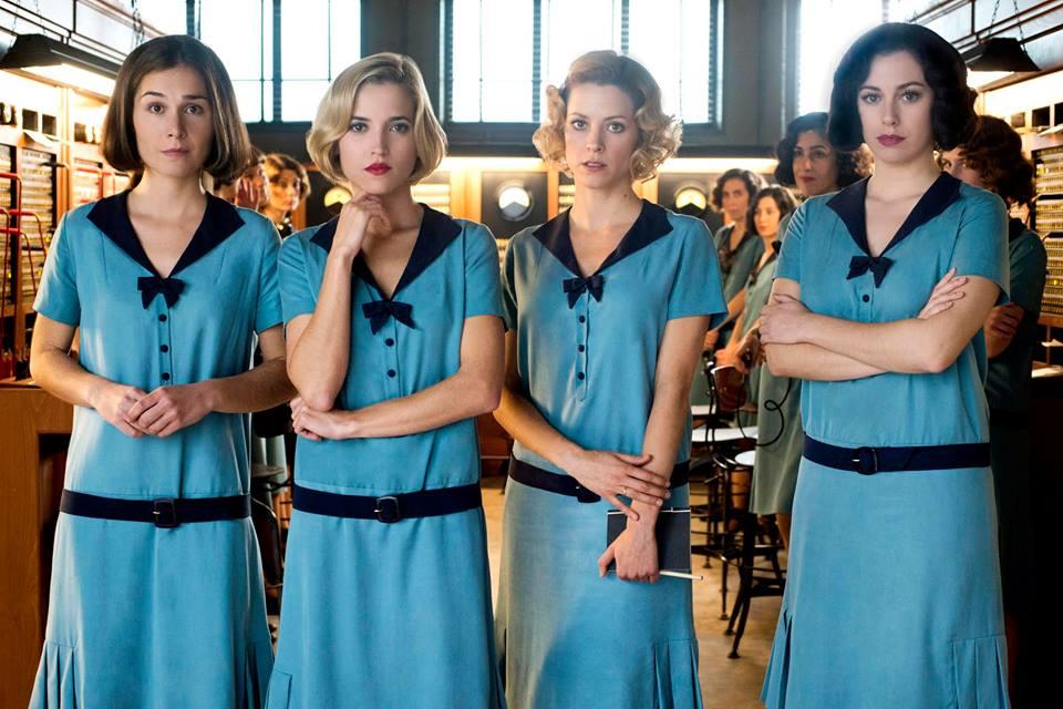 Foto promocional de Las Chicas del Cable, serie de Netflix