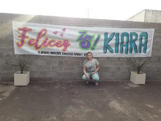 Feliz cumpleaños de 15 kiara salerno
