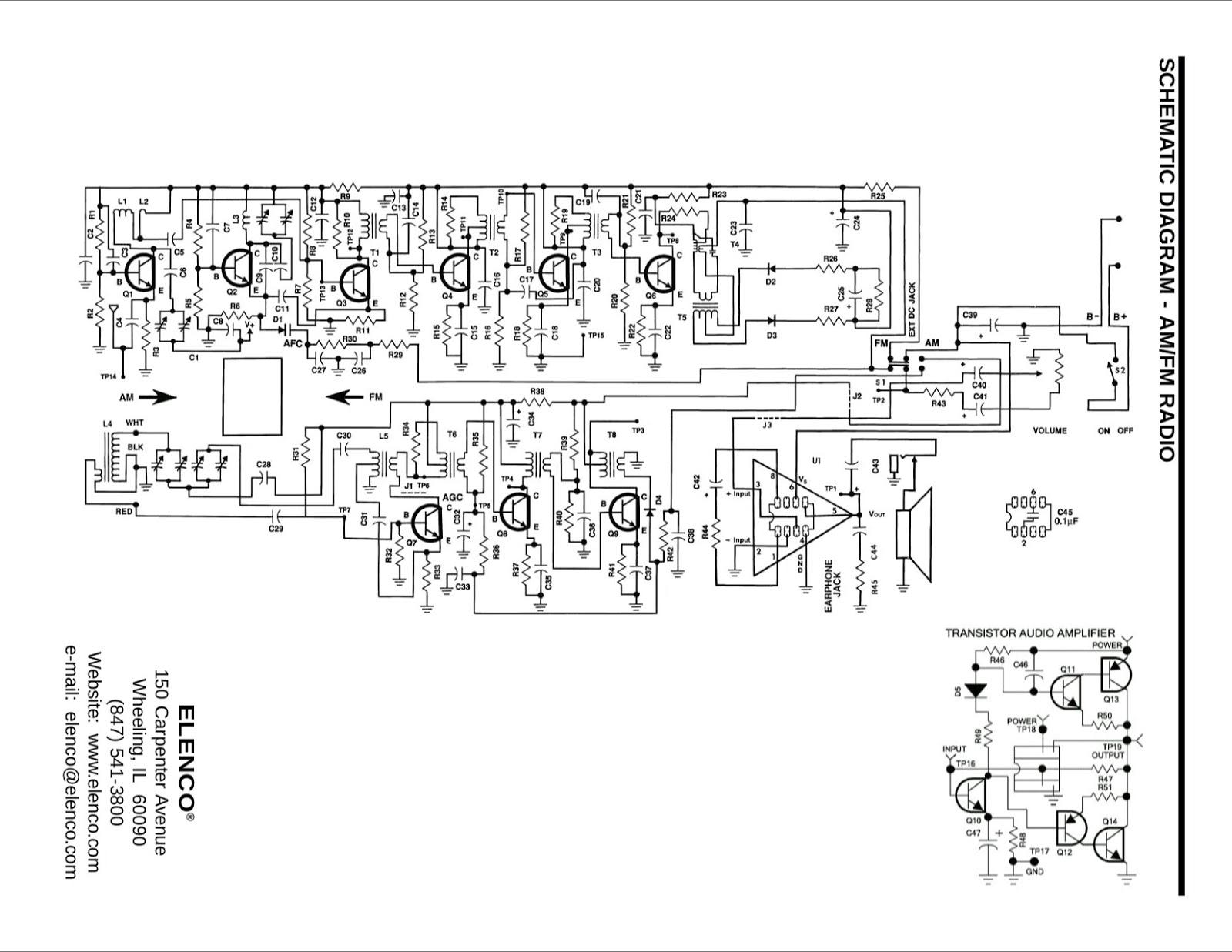 simple fm receiver circuit diagram [ 1600 x 1237 Pixel ]
