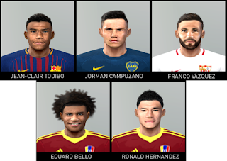 PES 6 Facepack v4 by Gabo Facemaker
