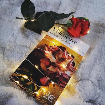 La belle et la bête roman Villeneuve Coin des licornes Blog littéraire Toulouse