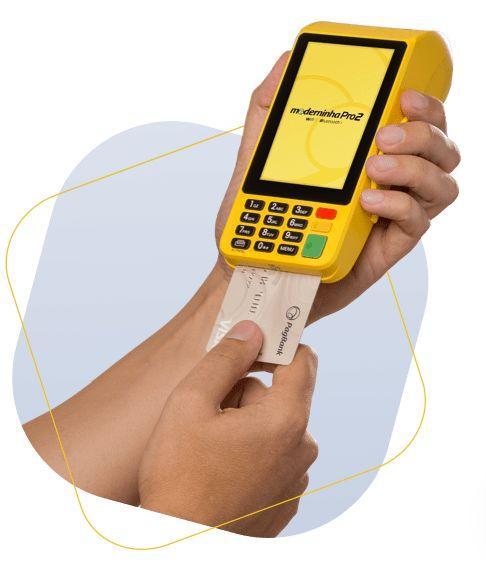 Comprar Máquina de Cartão de Crédito Moderninha PRO2 Promoção