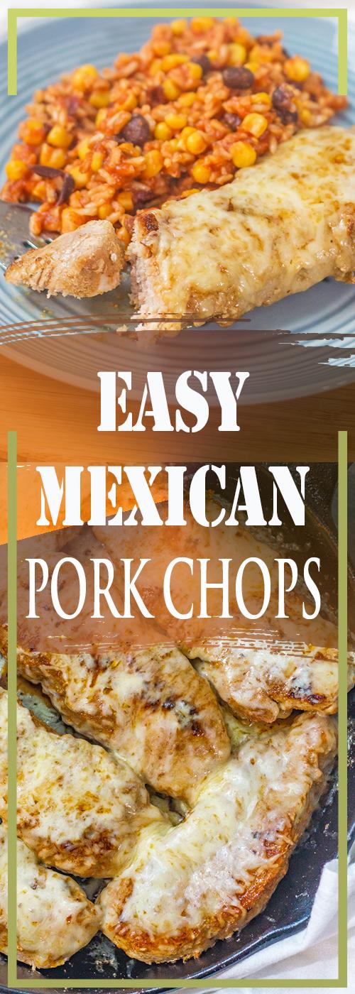 EASY MEXICAN PORK CHOPS RECIPE