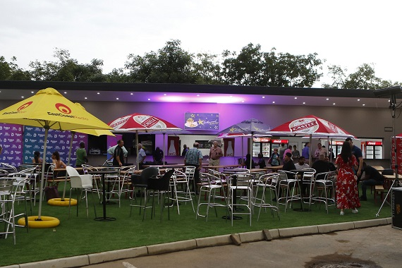 The Hollywoodbets Food Court at Hollywoodbets Kingsmead Stadium