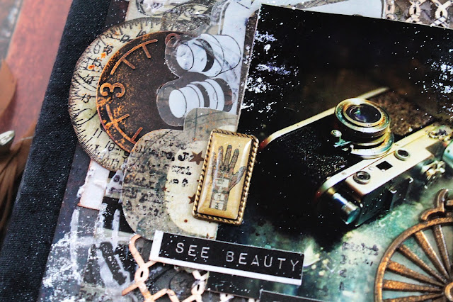 @marinasyskova #scrap #scrapbooking #mixedmedia #7dotsstudio #notebook