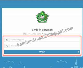 Cara Cetak Daftar Siswa di Emis Madrasah 2019