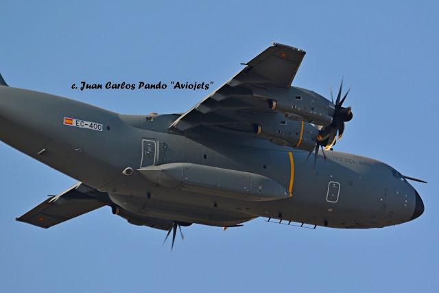 El A400M español levanta el vuelo por primera vez
