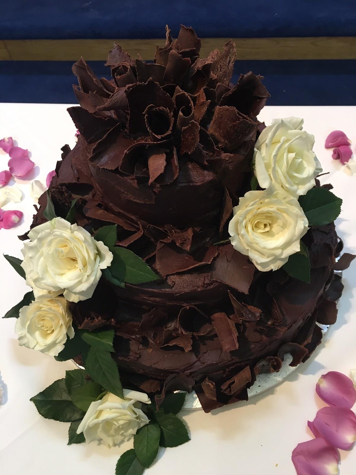 Wedding Cakes Northern Virginia Catering Northern VA DC And MD - Fudge Wedding Cake