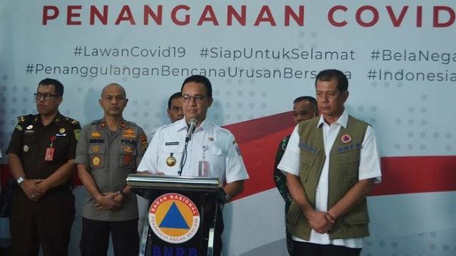 Update Corona Jakarta: 208 Orang Terjangkit, 17 Meninggal, 13 Pulih