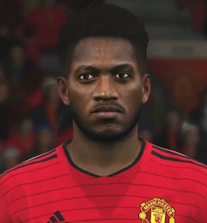 PES 2017 Faces Fred by Ben Hossam FaceMaker
