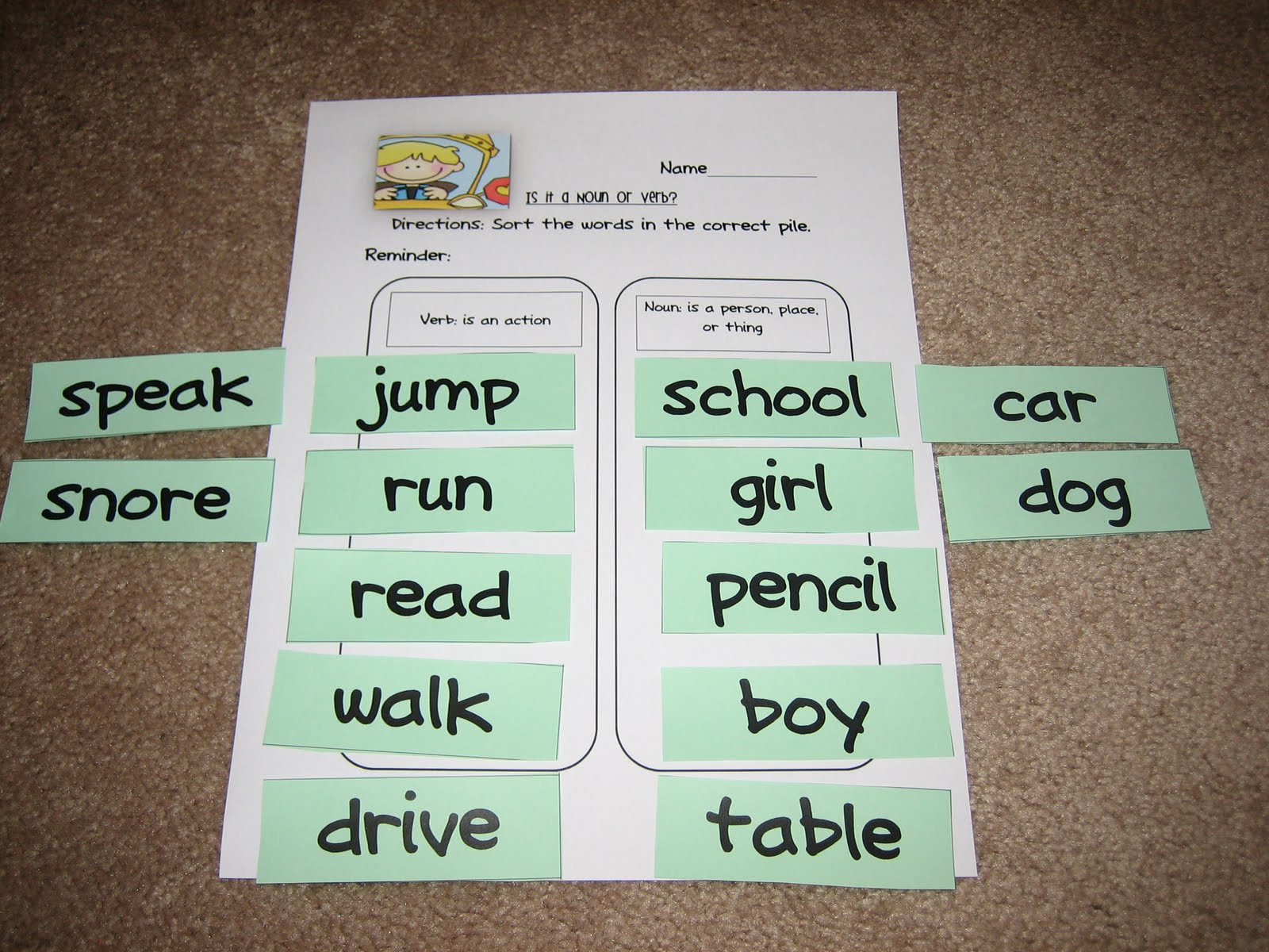 Buggy For Second Grade Verbs Verbs And More Verbs