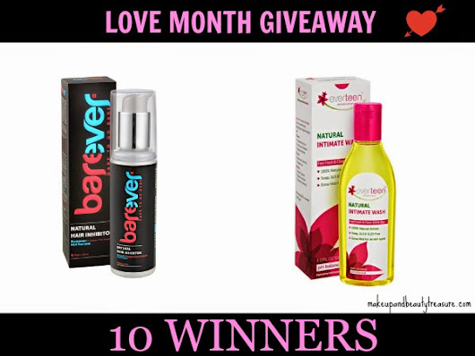 Love Month Giveaway