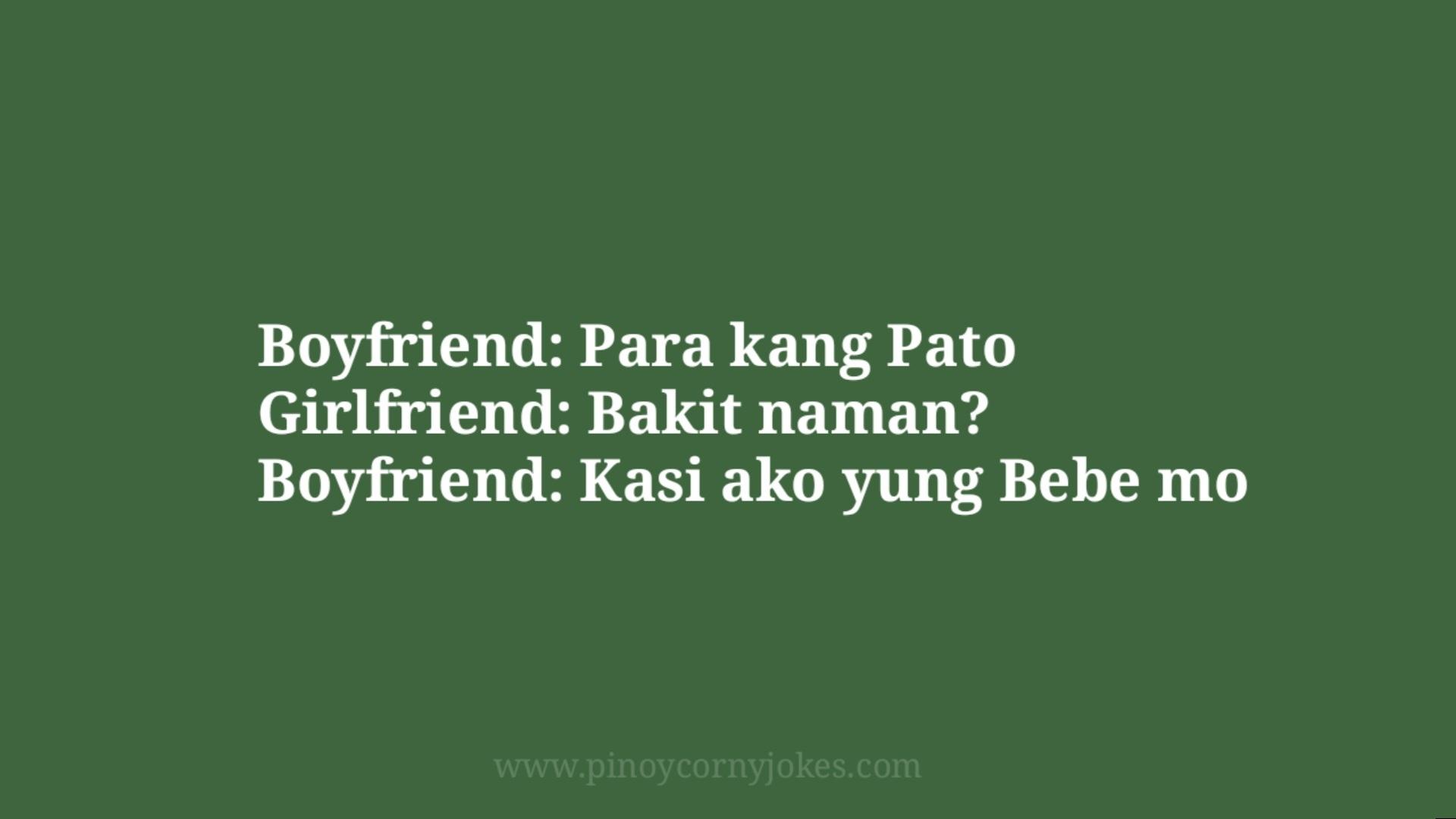 parang pato pinoy joke time bf gf