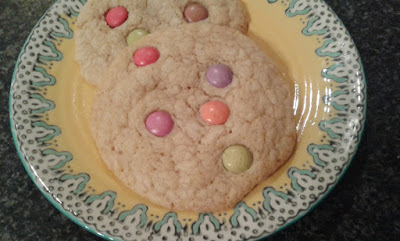 smarties cookies recipe what claire did