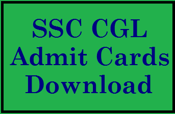 Download SSC CGL Admit Card 2021 for Combined Graduate Level exam