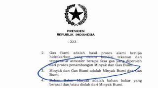 """Kocak! Defenisi di UU Cipta Kerja yang Diteken Jokowi, """"Minyak dan Gas Bumi adalah Minyak Bumi dan Gas Bumi"""""""