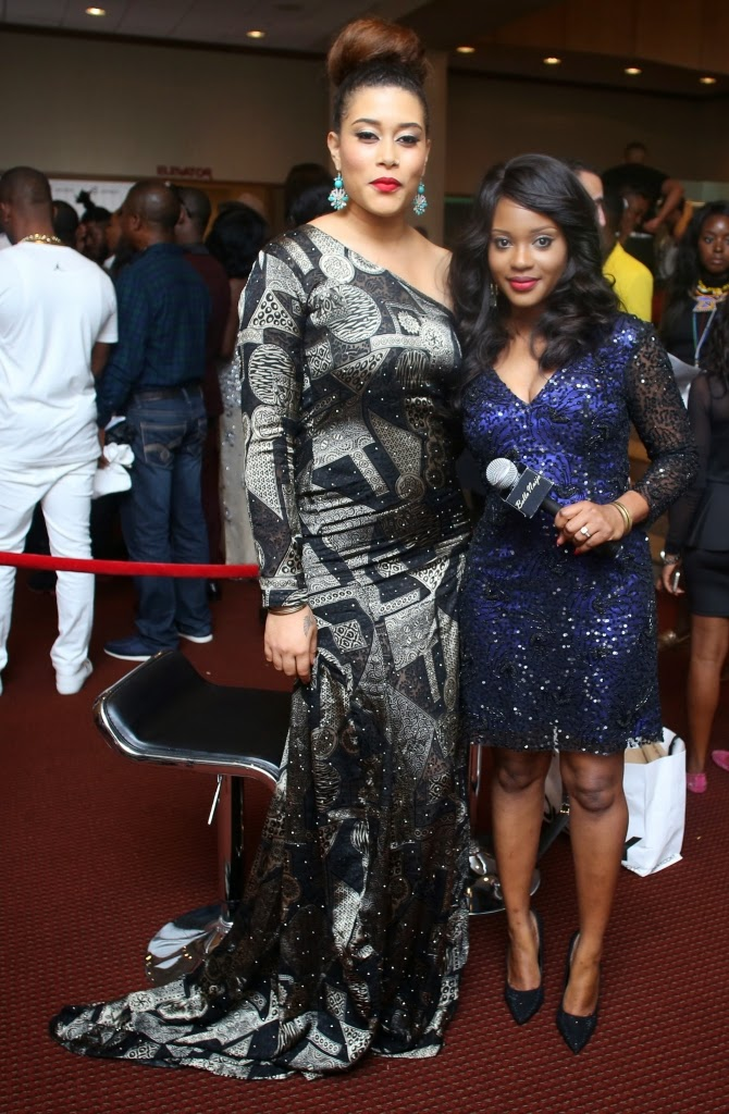 P67A9941 Red carpet photos from 2014 Nigeria Entertainment Awards