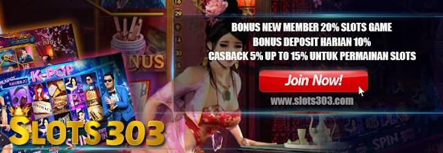 Slot303 Bandar Judi Slot Online Terpercaya