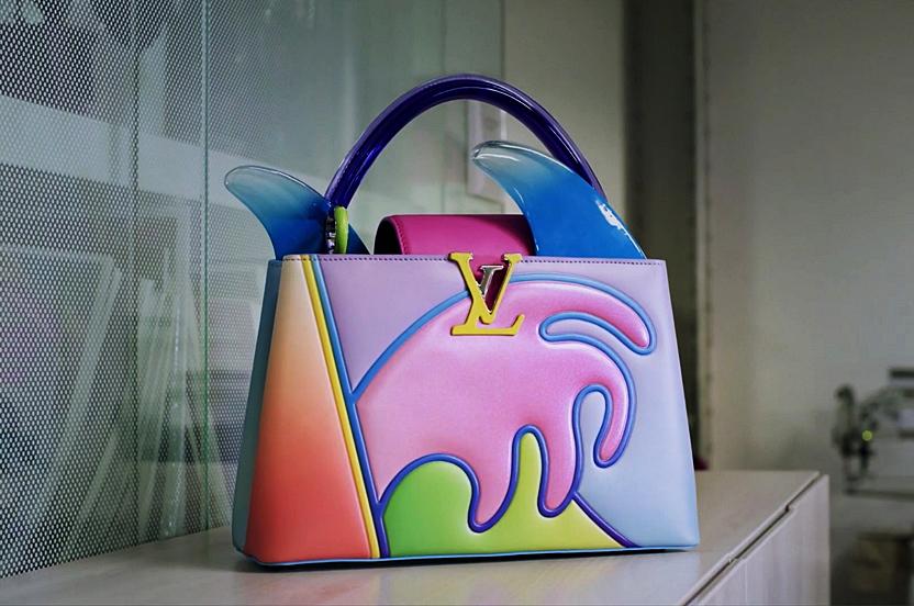 El 'Capucines' de Louis Vuitton se convierte en una obra de arte