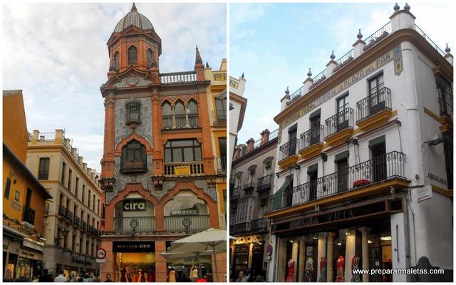 ruta por el centro de Sevilla