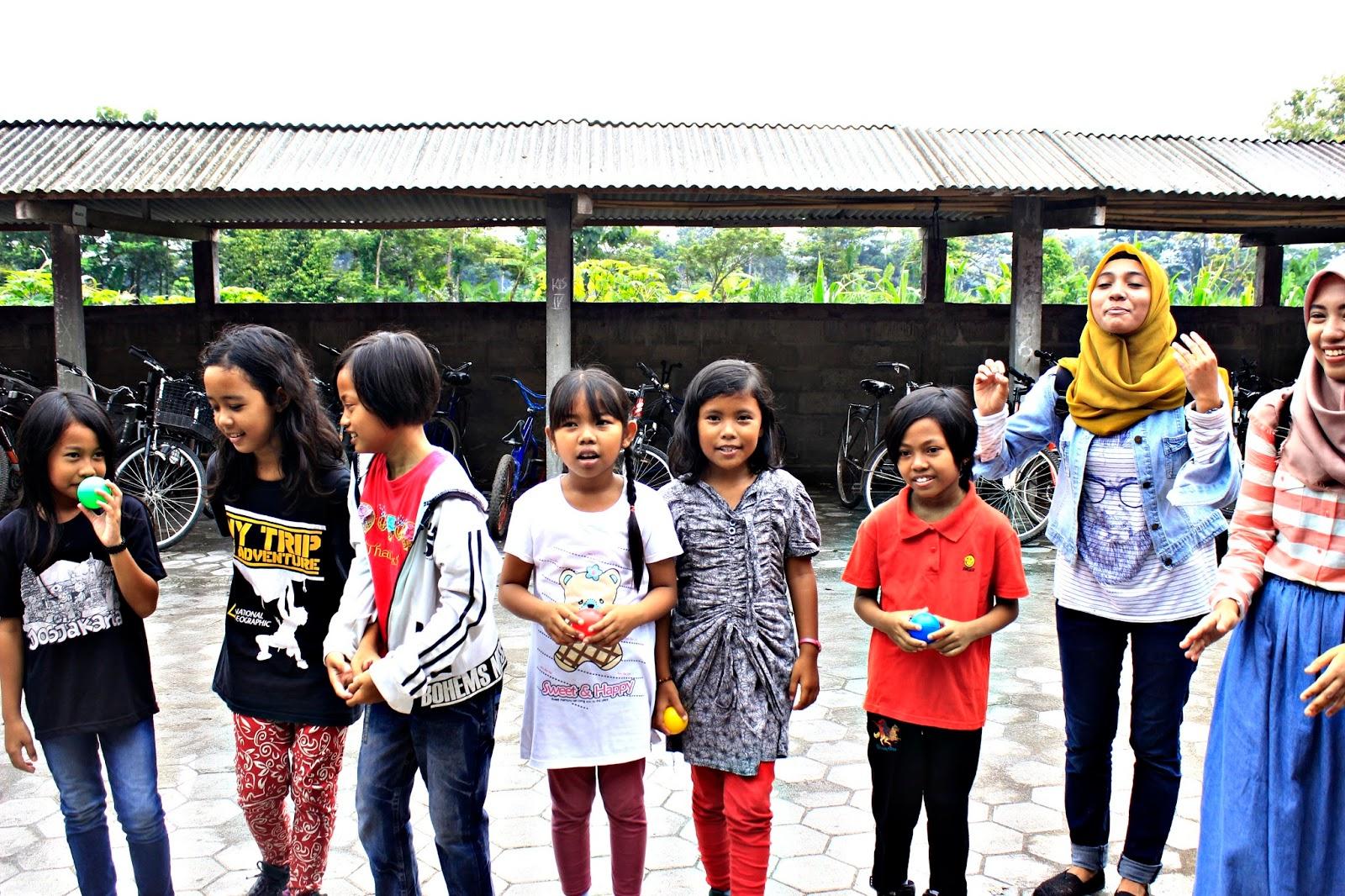 pos air sekolah berjalan book for mountain sd sribit bambanglipuro bantul
