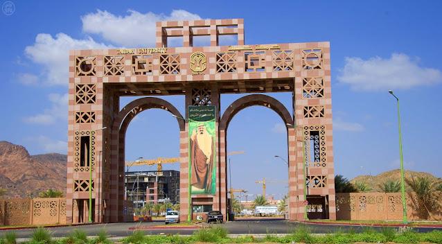 Beca de licenciatura en la Universidad de Taibah, Medina, Arabia Saudita