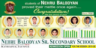 Advt. Nehru Balodyan Sr. Secondary School, Jaunpur | Kanhaipur, Jaunpur