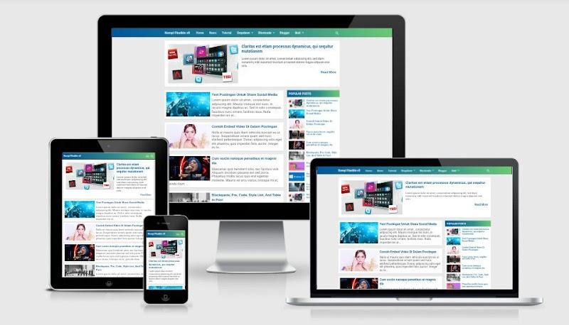 Kompi Flexible v860 None-AMP Premium Blogger Template