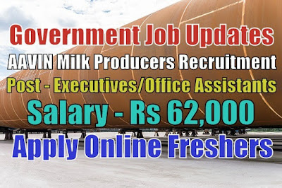 AAVIN Milk Producers Recruitment 2020